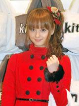 セレクトショップ「kitson表参道店」で行われたクリスマスツリー点灯式に出席した佐々木希 (C)ORICON DD inc.