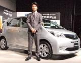 『新コンパクトカー TREZIA』の新車&CM発表会見に出席した玉山鉄二 (C)ORICON DD inc.