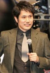 映画『GANTZ』ジャパンプレミア上映後に舞台あいさつを行った松山ケンイチ (C)ORICON DD inc.