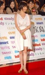 『日本ファッションリーダーアワード2010』授賞式に出席した永作博美 (C)ORICON DD inc.