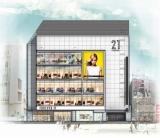 12月23日にオープンする「フォーエバー21渋谷店」外観イメージ図