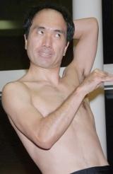 DVD『江頭2:50のピーピーピーするぞ!6』発売記念イベントで大暴走した江頭2:50 (C)ORICON DD inc.