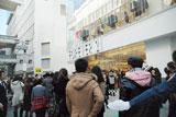 「FOREVER21」渋谷店が23日午前11時にオープンし、店頭前には同ショップのファン1000人が行列を作った (C)ORICON DD inc.