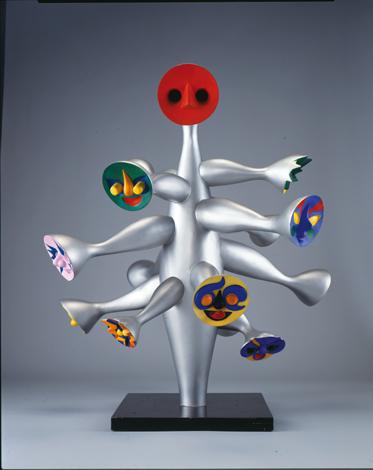『こどもの樹』(1985)所蔵先:川崎市岡本太郎美術館 (C)岡本太郎記念現代芸術振興財団