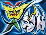 『駄々っ子』(1951)所蔵先:川崎市岡本太郎美術館 (C)岡本太郎記念現代芸術振興財団