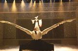『第61回NHK紅白歌合戦』で翼幅13メートルの「母鶴」をテーマにした巨大鶴に乗り歌唱披露した小林幸子