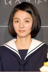 NHK朝の連続テレビ小説『おひさま』の会見に出席した満島ひかり