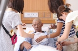 大幅な減量で撮影に挑んだ永瀬正敏 (C)2011映画「毎日かあさん」製作委員会
