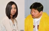 芥川賞を受賞した朝吹真理子氏(左)と西村賢太氏