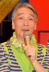人気料理番組『チューボーですよ!』放送800回を記念して報道陣の取材に応じた堺正章