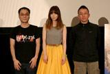 トークセッションイベントに登壇したMEG(中央)