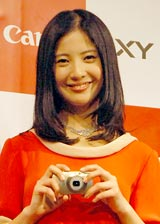 キヤノンのコミュニケーションパートナーを務める吉高由里子