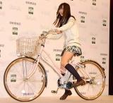 自転車協会『BAAマーク』新CM発表会に出席したAKB48の指原莉乃 (C)ORICON DD inc.