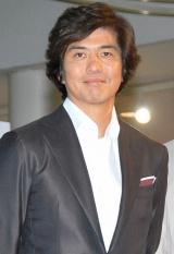 トヨタ『MARK X ZiO』新CM発表会に出席した佐藤浩市 (C)ORICON DD inc.