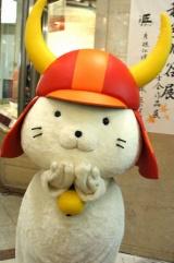 14日午前中だけで200個のバレンタインプレゼントが届いた彦根市の人気キャラクター・ひこにゃん (C)ORICON DD inc.