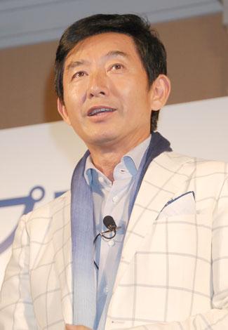 「塩を減らそうプロジェクト」発足1周年記者会見に出席した石田純一(C)ORICON DD inc.