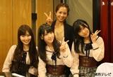 トークバラエティ番組『グータンヌーボ』に初出演するAKB48のメンバー3名(小嶋陽菜、柏木由紀、指原莉乃)