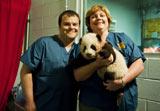生後3ヶ月のジャイアントパンダに「ポー」と命名した主人公の声を担当するジャック・ブラック