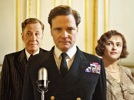 主演のコリン・ファースは『シングルマン』から2年連続でノミネート (C)2010 See-Saw Films. All rights reserved.