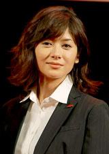 映画『SP 革命篇』の完成披露試写会に出席した真木よう子