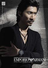 ファッションブランド「エンポリオ アルマーニ」のイメージモデルに2年連続起用されたEXILE・眞木大輔