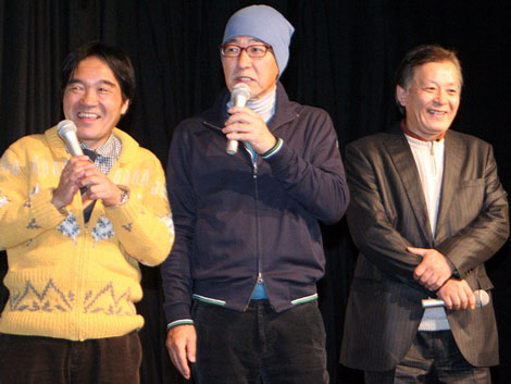 シティーボーイズ(左から)きたろう、大竹まこと、斉木しげる (C)ORICON DD inc.