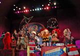 ユニバーサル・スタジオ・ジャパン開業10周年記念プログラムのプレスイベントの模様