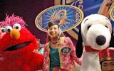 ユニバーサル・スタジオ・ジャパン開業10周年記念プログラムのプレスイベントに登場したベッキー