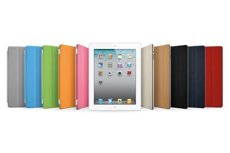 『iPad2』と専用スクリーンカバー「スマートカバー」