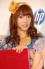 日本HP社『個人向けPC』の新製品発表会に出席したAKB48の高城亜樹 (C)ORICON DD inc.