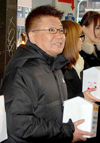 自身も被災した東日本大震災への募金を呼びかける生島ヒロシ (C)ORICON DD inc.