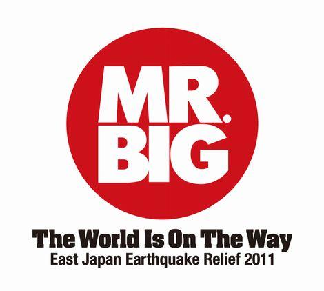 東日本大震災チャリティーCD「THE WORLD IS ON THE WAY」を全11会場で販売