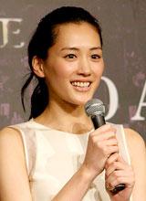 映画『プリンセス トヨトミ』の完成披露会見に出席した綾瀬はるか