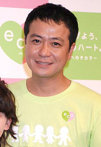 環境キャンペーン『つなげよう、ecoハート。〜明日へのチカラ〜』の記者会見に出席した中山秀征 (C)ORICON DD inc.