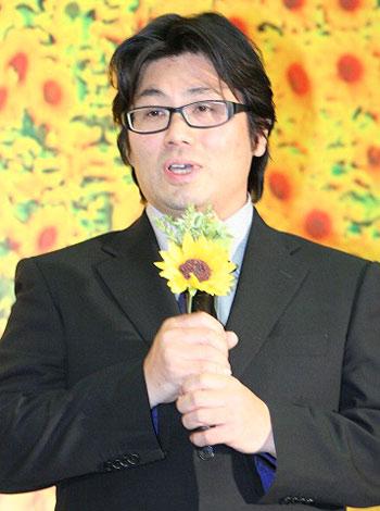 映画『星守る犬』の完成披露会見に出席した原作者の村上たかし氏 (C)ORICON DD inc.