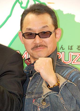 福島県復興イベント『GAMBARUZO!ふくしま 2Days in いなわしろ』の会見に出席したBOOWYの元メンバー・高橋まこと (C)ORICON DD inc.