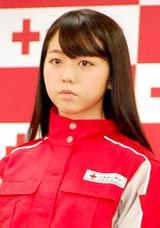 日本赤十字社『誰かのためにプロジェクト』の記者発表会に出席したAKB48・峯岸みなみ