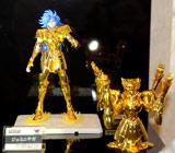 バンダイ『聖闘士星矢』フィギュアシリーズ新ブランド発表会でお披露目された『聖闘士聖衣神話EX』シリーズの第一弾「ジェミニサガ」