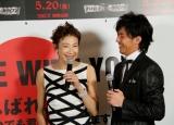 映画『パイレーツ・オブ・カリビアン/生命の泉』ジャパンプレミアに来場した(左から)前田美波里、金子昇