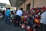 今年は全国から約1万個のランドセルが寄贈された