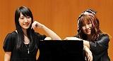 プリティ・バッハ(左から:佐田詠夢、紅林弥生)
