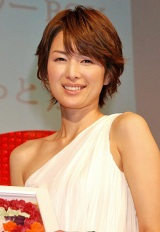 """『第3回 女性が選ぶ""""イイ女""""ランキング』3位の吉瀬美智子 (C)ORICON DD inc."""