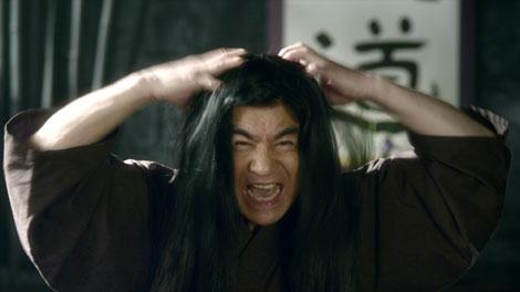 『髪道』の教えを説く藤岡