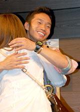 長友佑都選手の著書『日本男児』(ポプラ社)刊行記念イベントの様子
