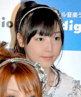 音楽放送スターデジオの公開録音イベントを行ったモーニング娘。の譜久村聖