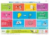 """日本マクドナルド、この夏のトレーマットには同社の""""節電アクション10""""を掲載"""
