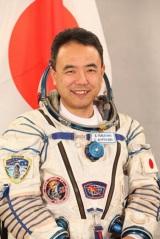 国際宇宙ステーションに滞在する宇宙飛行士の古川聡さん