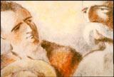 ジャン・ジオノの原作に感銘を受けたバックが、5年半の歳月をかけ、2万枚におよぶ作画作業の大半を一人でこなして作り上げた代表作『木を植えた男』(1987年/30分)より (C) Societe Radio-Canada In partnership with the Atelier Frederic Back, Montreal.