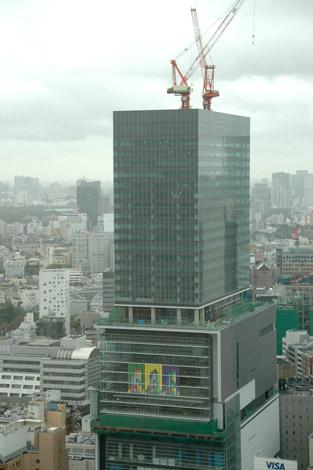 現在建設中の複合ビル『渋谷ヒカリエ』の様子 (C)ORICON DD inc.