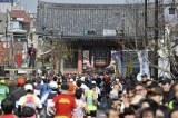 今年2月に行われた『東京マラソン2011』の様子 (C)東京マラソン財団